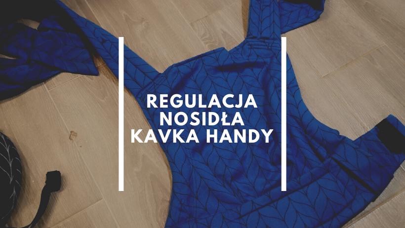 regulacja nosidła Kavka Handy by Natalia Rączka chustonoszenie Kraków 2